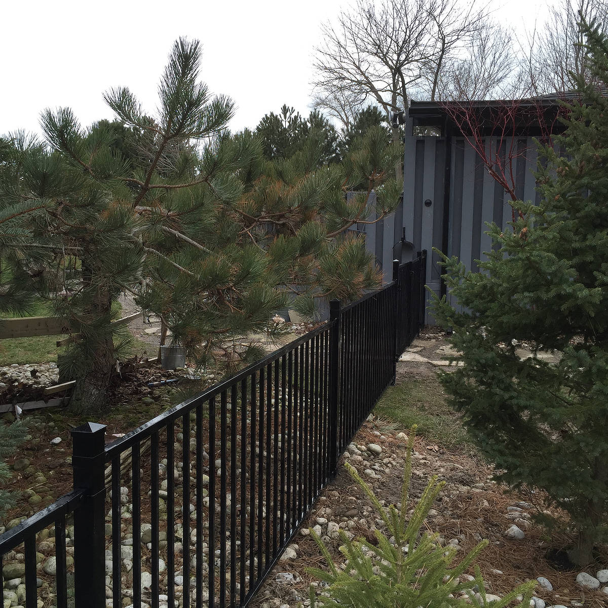 Modular Iron Fences Hamilton Ontario The Fence Guy