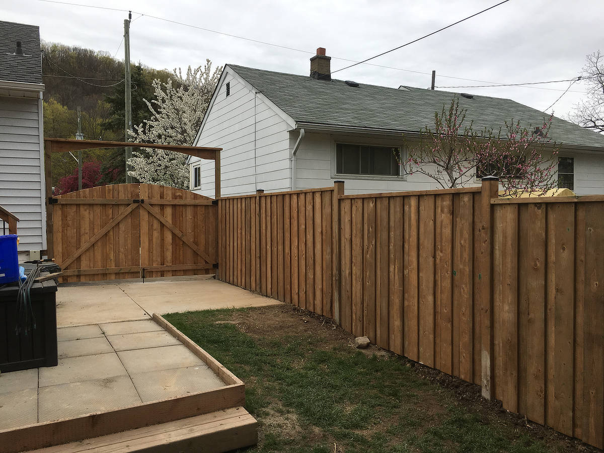 Wood Fence Photo Gallery Hamilton Ontario The Fence Guy