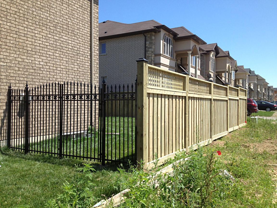 Wood Fence Photo Gallery Hamilton Ontario The Fence Guy