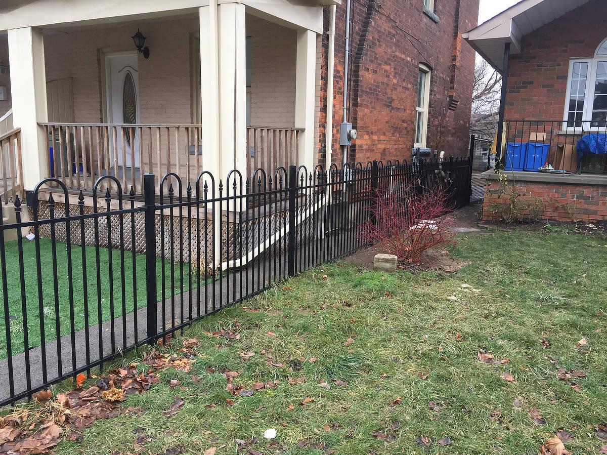 Modular Iron Fences Hamilton Ontario The Fence Guy