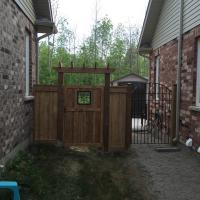 Custom Wood & Iron Gates