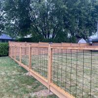 hog fence powder coat