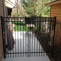 Modular Iron Fence With Gate