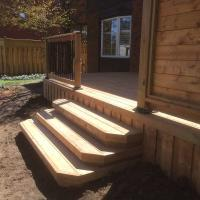 side deck stairs