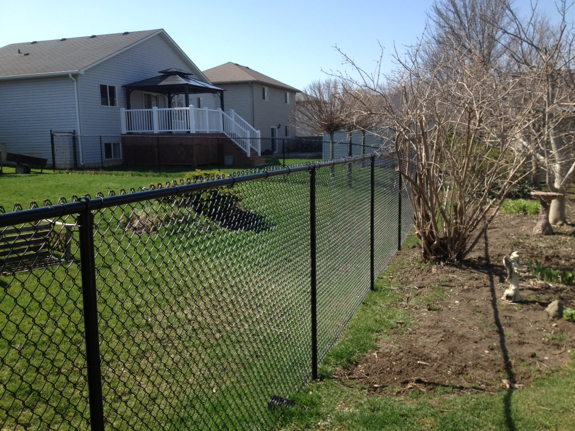 Chainlink Fences Hamilton Ontario The Fence Guy